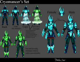 Cryomancer's Outfit by EliteZeon