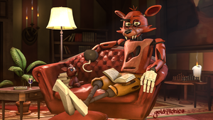 For old Foxy, a good book is better than booty lol by gold94chica