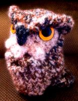 Loom Knitted Owl by ScarlettRoyale