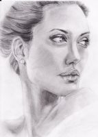 Angelina Jolie by Cerera