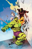 HULK vs. Iron Man by FelipeSmith