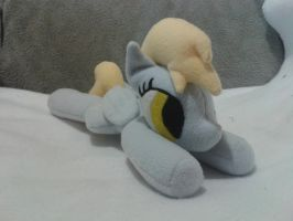 Derpy plush by turbolen7