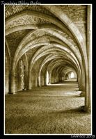 Fountains Abbey Arches by small-onion