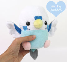 Make your own baby bird plush by TeacupLion