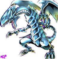 Blue-Eyes White Dragon Render by AESD