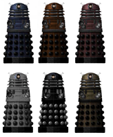 the new daleks by kudabah