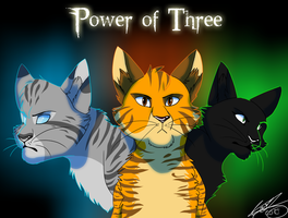 Power of Three by Wolfjesyo