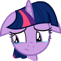 Crying Twilight Sparkle Vector by hombre0