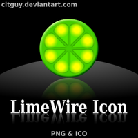 LimeWire Icons by CITguy
