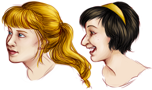 Friend Portraits by ratopiangirl
