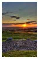 Cairnpapple sunset by FlippinPhil