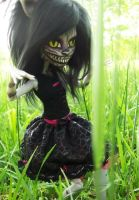 Monster High Cheshire Cat Custom 'Malice' 2 by AdeCiroDesigns