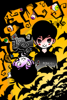 Kawaii / Kowai HALLOWEEN by BlackReaperNight