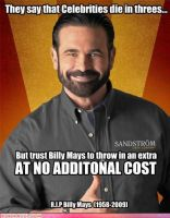 Billy Mays R.I.P. by KefkaPalazzo24