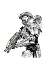WIP: Master Chief 2 by FlashofWildfire