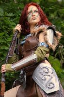 Aela the Huntress Cosplay I by Vermiljona