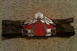 Ezio's belt. by TheCreedBeliever