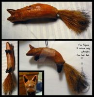 Hanging Fox Figure by keysan