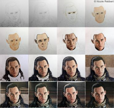 The Trial of Loki step by step by Quelchii