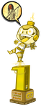 Lacertae Art Bomb Trophy by DustinRigg