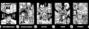 Dragon Ball  Story-Arcs by devilkais