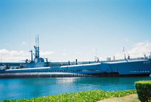 USS Bowfin SS-287 4 by Pwesty