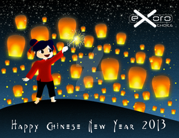 Exoro Choice's 2013 Chinese New Year Cards 13 by ExoroDesigns