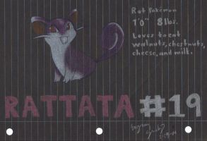 Rattata by Dragonlady333