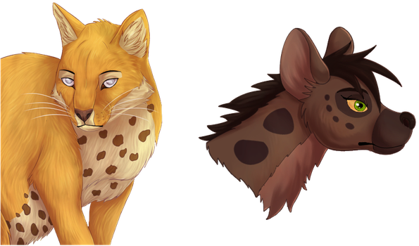 Firrael and Kuanza - prizes by Salvathi