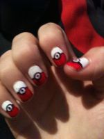 The other hand of my pokemon nails by My-Life-In-Pictures
