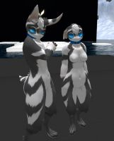 Advertisment for Liki New Mesh Second life Avatar by dragoon86