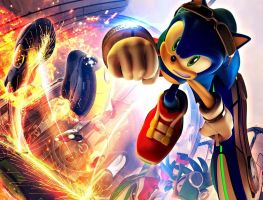 Sonic Wallpaper by Sonic-4ever-Club