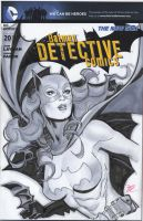 Batgirl blank cover by MichaelDooney