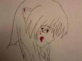 Lucy (whit Blood) by BlackShot96XD