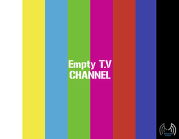 Empty T.V Channel by abodemous