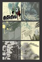CD booklet Design - Psycho - by boss13055