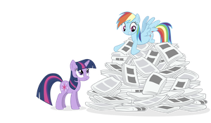 RD and Twi Newspapers by WaterTribeKayla
