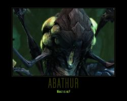Starcraft II Heart of the Swarm Abathur by Onikage108