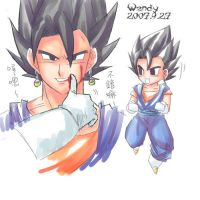 vegeto blood by kotenka1984