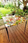 Fused Glass Table by hello07734
