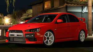 2007 Mitsubishi Lancer Evolution X (GT5) by Vertualissimo