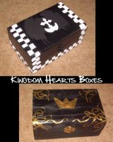 Kingdom Hearts Boxes by KamuiYamato