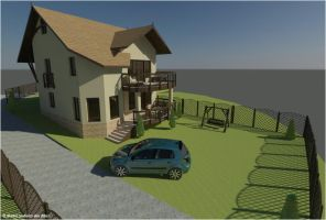 family house ext gdz 13 by dtbsz