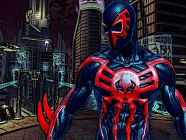 2099 Spider-Man by O85CUR3D