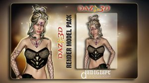 Daz3D Model Pack 02 by SK-DIGIART