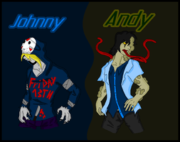 L4D-Johnny and Andy by RaphaelaTheTurtel