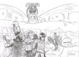 The team gathered by TossarN