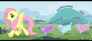 Tiny Ewes by Crimson-Mane