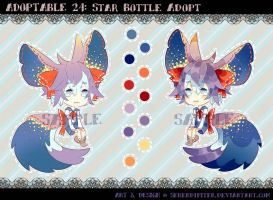 [CLOSED] Adoptable 24: Star Bottle Adopt by Serendipiter