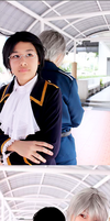 Cosplay: Austria and Prussia by Junez-chan